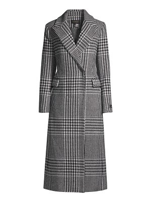Donna Karan double breasted wool-blend coat