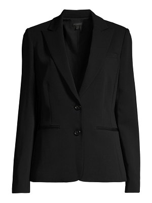 Donna Karan italian crepe double-breasted jacket