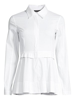 Donna Karan peplum dress shirt