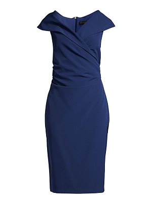 Donna Karan pleated mid-length dress