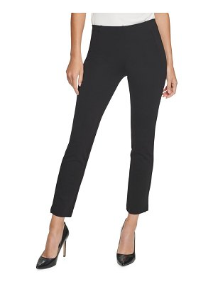 Donna Karan ponte knit cropped pants