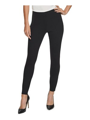 Donna Karan ponte pull-on skinny pants