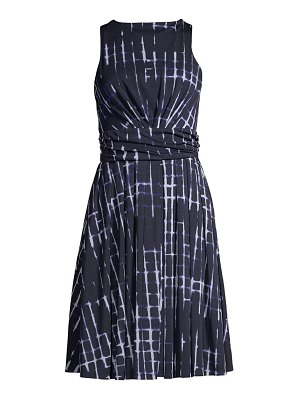Donna Karan tie-dye swing dress