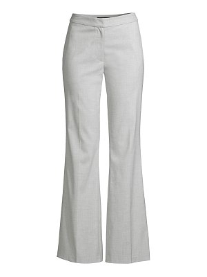 Donna Karan tropical stretch flare pants