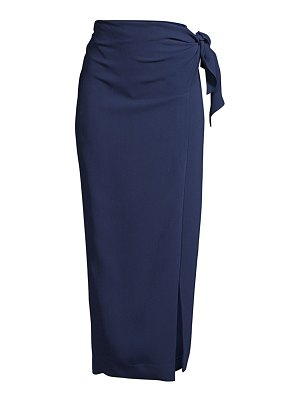 Donna Karan wrap mid-length skirt