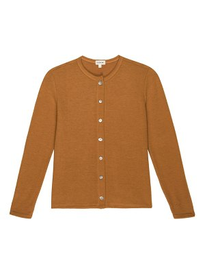 DONNI button-front sweater cardigan