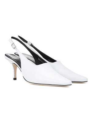 Dorateymur Groupie II leather slingback pumps