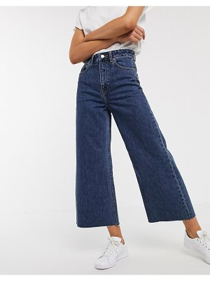 Dr Denim aiko high rise wide leg jean-blue