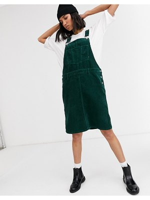 Dr Denim mini cord dress-green