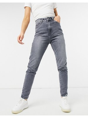 Dr Denim nora skinny jeans in washed gray-grey