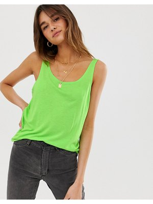 Dr Denim tank top-green