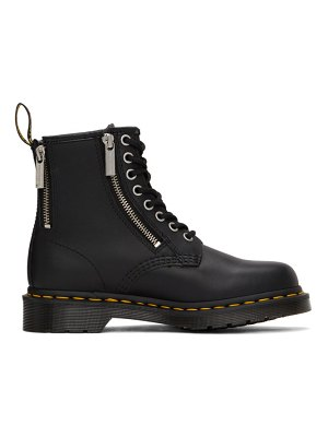 Dr. Martens 1460 nappa zip ankle boots