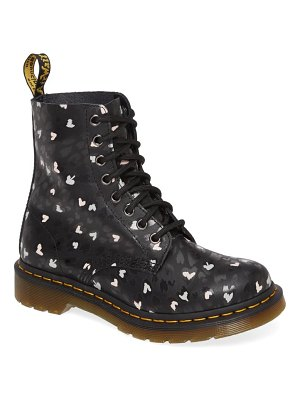 Dr. Martens 1460 pascal hearts lace-up boot