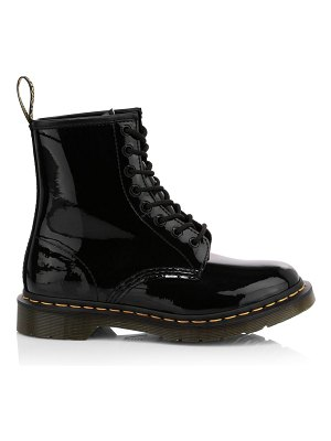 Dr. Martens 1460 patent leather combat boots