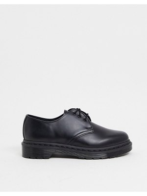 Dr Martens 1461 flat shoes in black mono