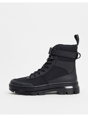 Dr Martens combs tech ankle strap ankle boots in black