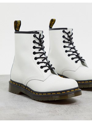 Dr Martens dr. martens 1460 8 eye boots in white