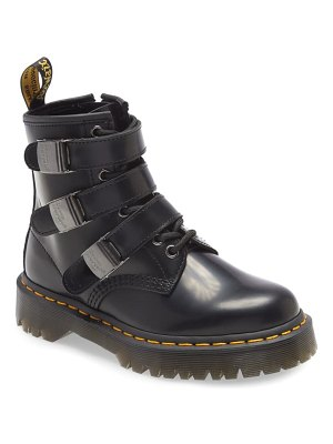 Dr. Martens fenimore triple buckle boot