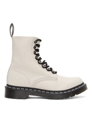 Dr. Martens off-white 1460 pascal boots