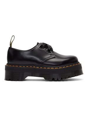 Dr. Martens ribbon lace-up holly derbys