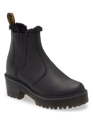 Dr. Martens rometty faux fur lined chelsea boot