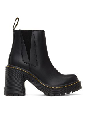 Dr. Martens spence flared heel chelsea boots