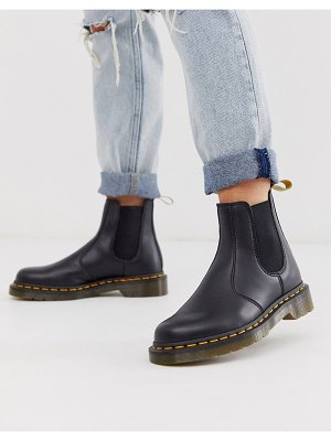 Dr Martens vegan 296 chunky chelsea boots in black