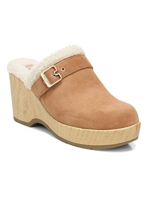 Dr. Scholl's pixie faux shearling clog