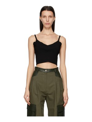 DRAE knit cropped tank top