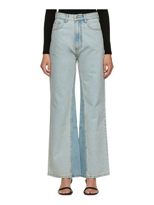 DRAE panelled jeans