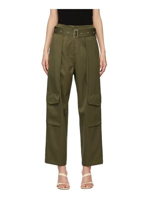 DRAE wool pocket trousers