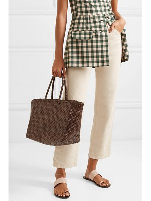 DRAGON DIFFUSION basket woven leather tote