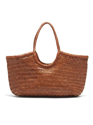 DRAGON DIFFUSION nantucket large woven-leather tote bag