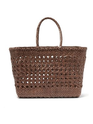 DRAGON DIFFUSION woven leather basket bag
