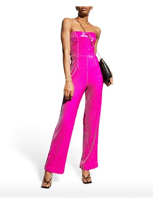 Dress the Population Andy Strapless Sequin Jumpsuit