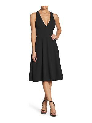 Dress the Population catalina fit & flare dress
