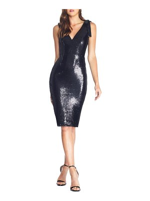 Dress the Population mary sequin body-con cocktail dress
