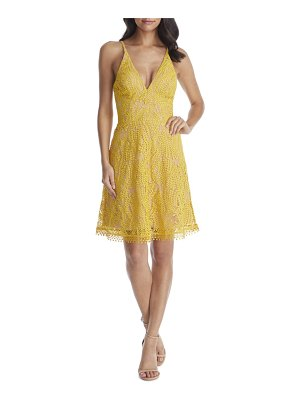 Dress the Population piper crochet lace cocktail dress