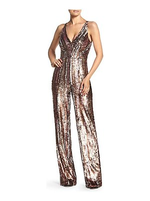 Dress the Population sequin wide-leg jumpsuit