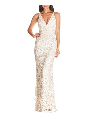 Dress the Population sharon lace evening gown