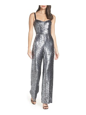 Dress the Population victoria sequin wide leg jumpsuit