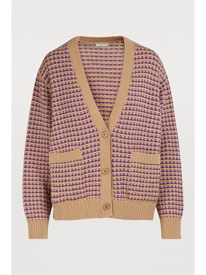 Dries Van Noten Cashmere and wool cardigan
