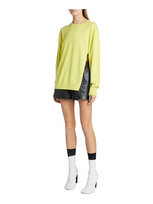 Dries Van Noten Cashmere Slit-Side Sweater