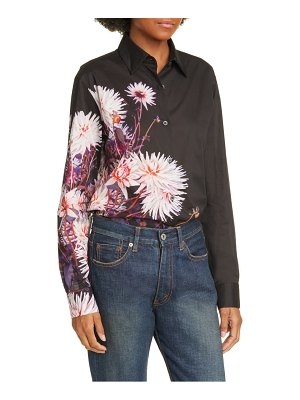 Dries Van Noten clavelly dahlia print shirt