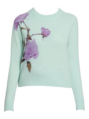 Dries Van Noten floral sweater