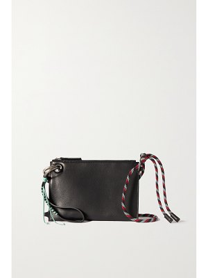 Dries Van Noten knotted braided leather shoulder bag