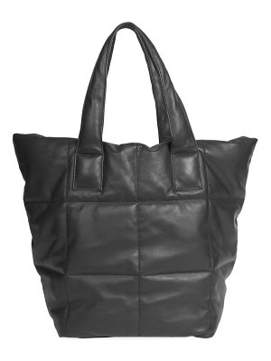 Dries Van Noten quilted leather tote