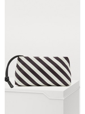 Dries Van Noten Striped clutch