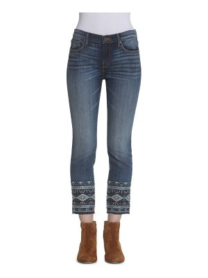 Driftwood Colette In Canary Cropped Jeans