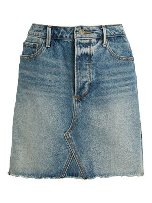 Driftwood Deconstructed A-Line Denim Skirt